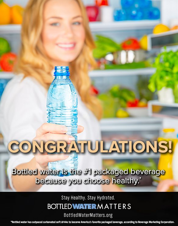 Congrats, Bottled Water | IBWA | Bottled Water