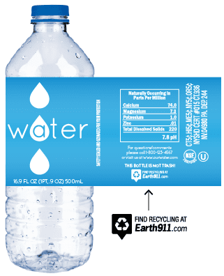 Generic Water Bottle, Bottled Water | IBWA | Bottled Water