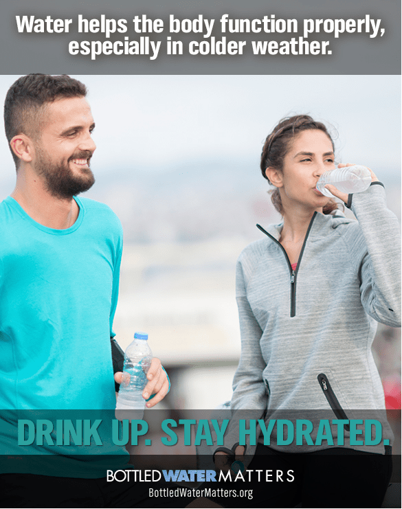 Bottled Water Hydrate In Colder Weather 2015 FINAL, Bottled Water | IBWA | Bottled Water