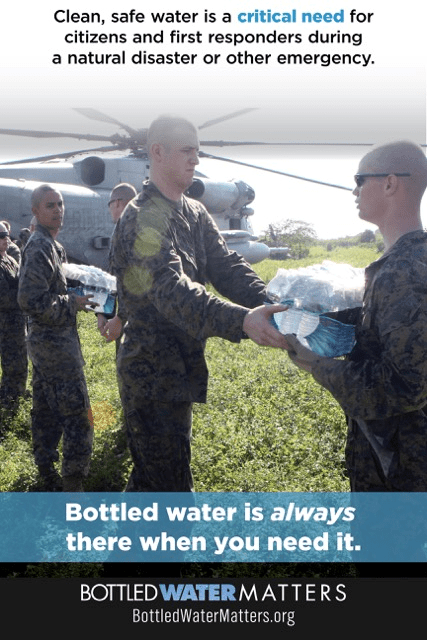 Disaster Relief Graphic 2, Bottled Water | IBWA | Bottled Water