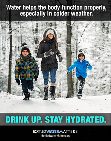 Winter Graphic, Bottled Water | IBWA | Bottled Water