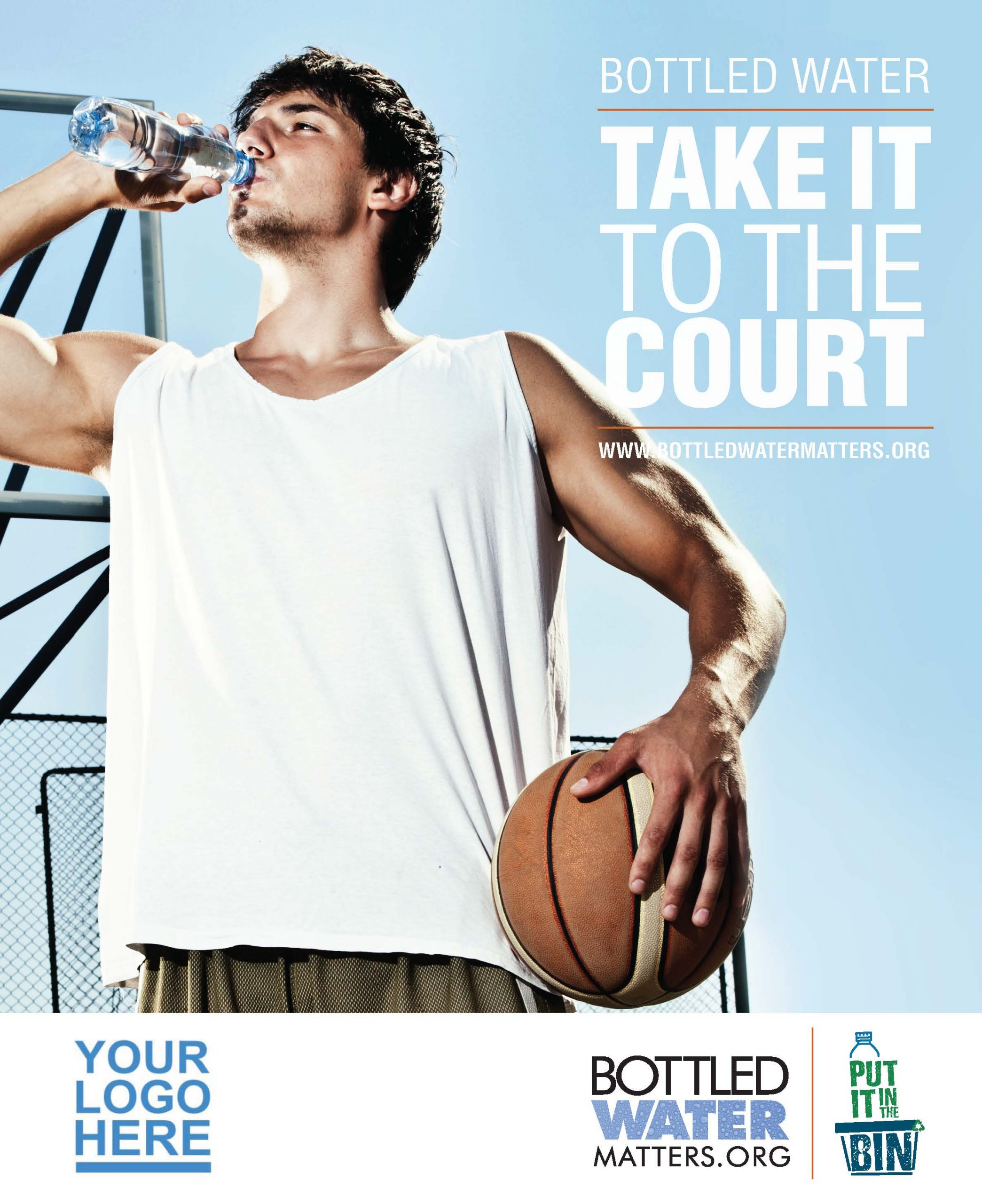 TakeItToTheCourt Member Scaled, Bottled Water | IBWA | Bottled Water