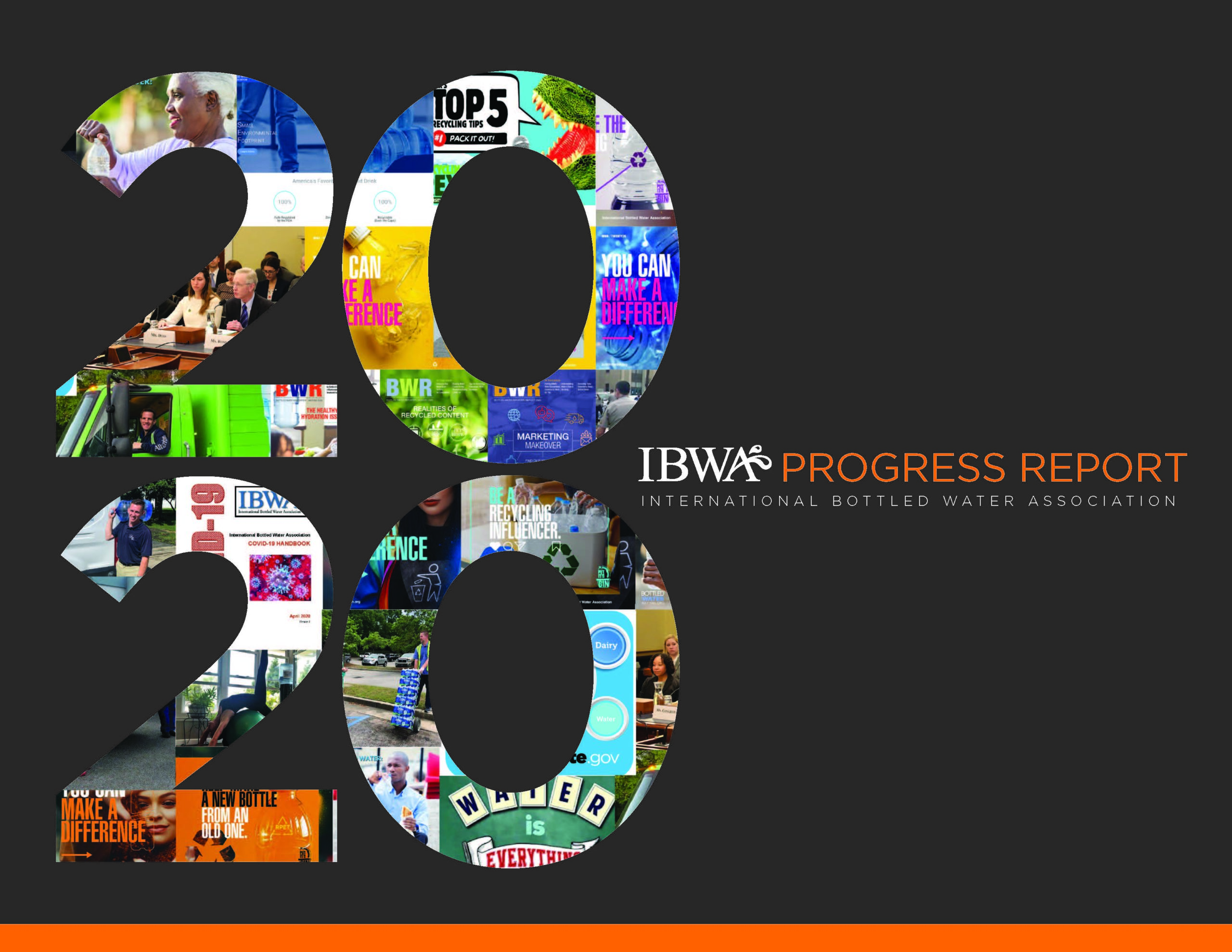 2020 Progress Report Final Cover Scaled, Bottled Water | IBWA | Bottled Water